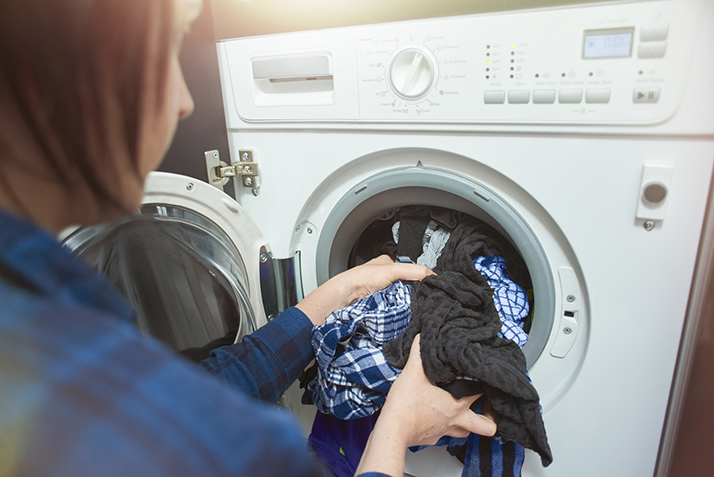 Load Your Washing Machine the Right Way